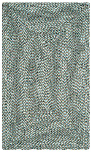 Reversible 3' x 5' Doormat, Gray, large