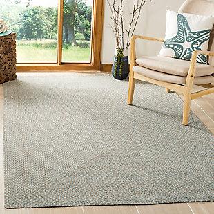 Reversible 3' x 5' Doormat, Gray, rollover