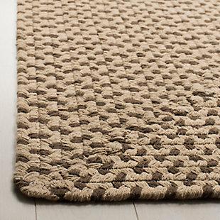 Reversible 3' x 5' Doormat, Beige, rollover