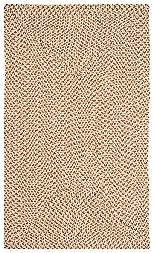Reversible 3' x 5' Doormat, Beige, large