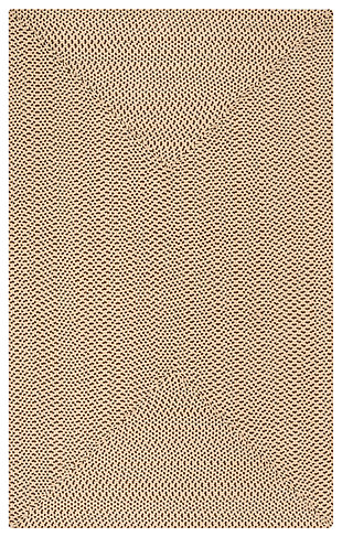 Reversible 6' x 9' Area Rug, Beige, large