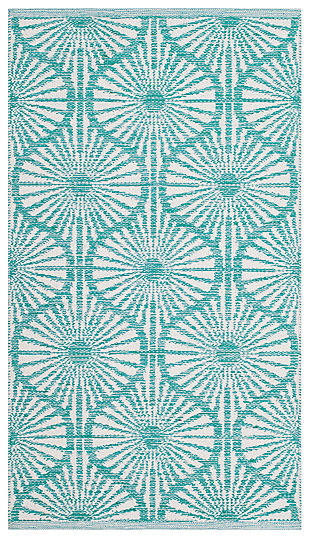 """Classic 2'3"""" x 7' Runner Rug, Blue, large"""