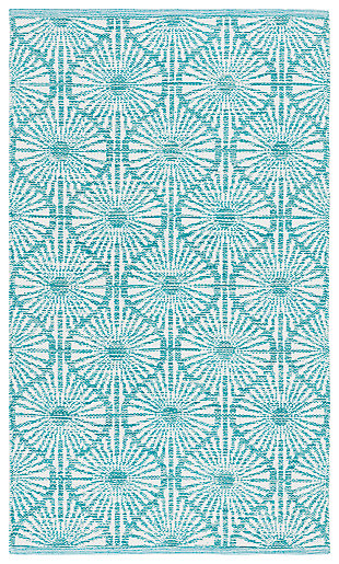 Classic 5' x 8' Area Rug, Blue, large