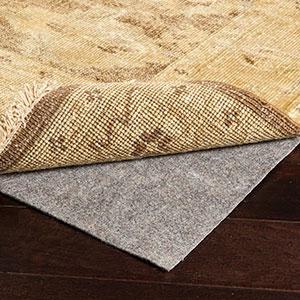 Surya World Needle 5' x 8' Rug Pad, White, large