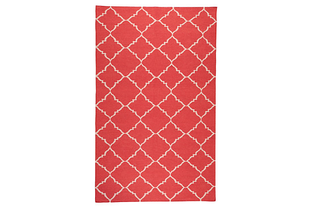 Red Home Accents 5' x 8' Rug by Ashley HomeStore