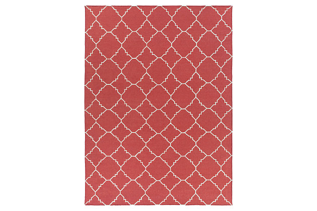 Red Home Accents 8' x 11' Rug by Ashley HomeStore