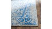 "Accessory 2'6"" x 20' Runner Rug, Blue/Gray, rollover"