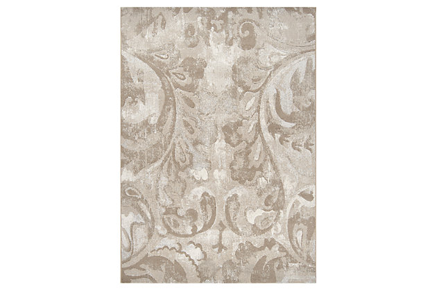 "Home Accents 5'3"" x 7'6"" Rug, Multi, large"