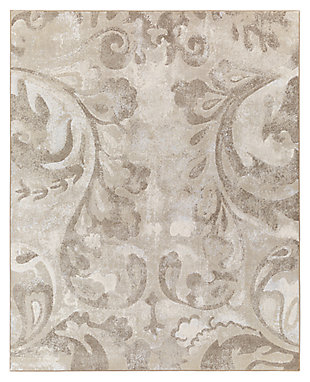 "Home Accents 7'10"" x 10' Rug, Multi, large"