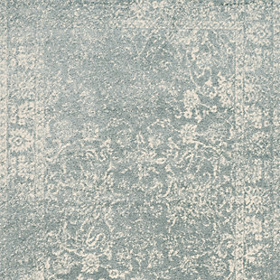 "Accessory 5'1"" x 7'6"" Area Rug, Gray/White, large"
