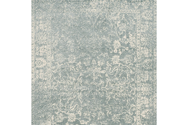 Accessory 6' x 9' Area Rug, Gray/White, large