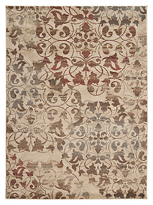 "Home Accents 7'10"" x 10'10"" Rug, Multi, rollover"