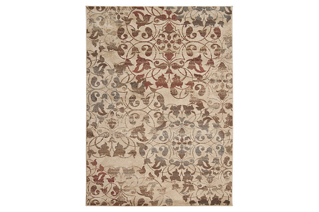"Home Accents 7'10"" x 10'10"" Rug, Multi, large"