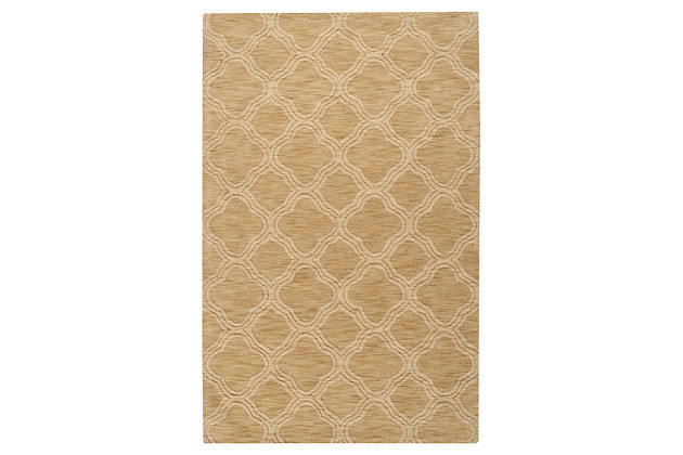 Yellow Home Accents 5' x 8' Rug by Ashley HomeStore