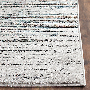 Ombre 4' x 6' Area Rug, Gray/Black, rollover