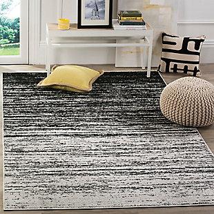 Ombre 8' x 10' Area Rug, Gray/Black, rollover