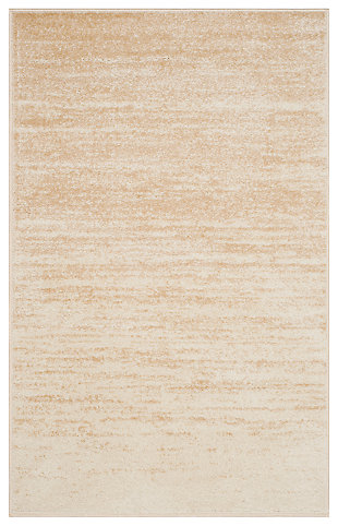 "Ombre 5'1"" x 7'6"" Area Rug, Beige, large"