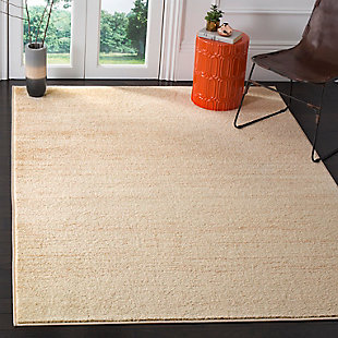 "Ombre 5'1"" x 7'6"" Area Rug, Beige, rollover"