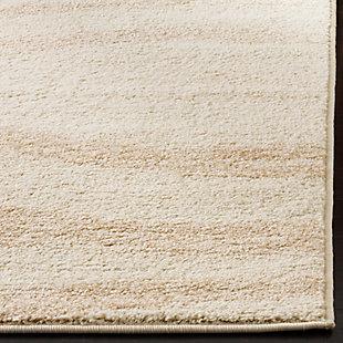 Ribbon 3' x 5' Doormat, Beige/White, rollover