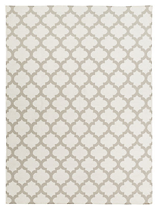 Home Accents 8' x 11' Rug, Gray, large