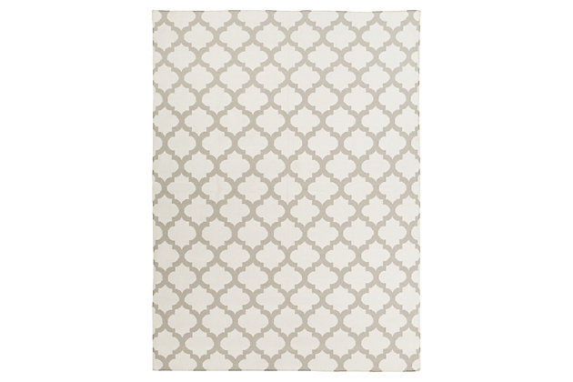 Home Accents 8' x 11' Rug by Ashley HomeStore, Gray