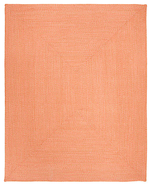 Reversible 8' x 10' Area Rug, Brown, rollover