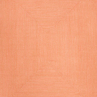 Reversible 8' x 10' Area Rug, Brown, large