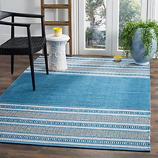 Accessory 5' x 8' Area Rug, Blue/Gray, rollover