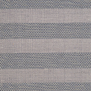 Accessory 8' x 10' Area Rug, White/Blue, large