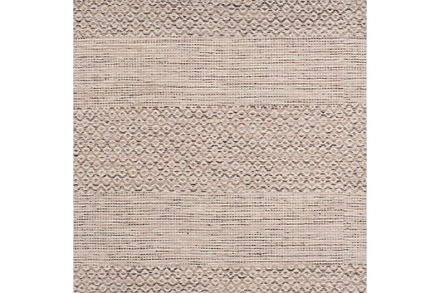 Accessory 3' x 5' Doormat, Gray/White, large