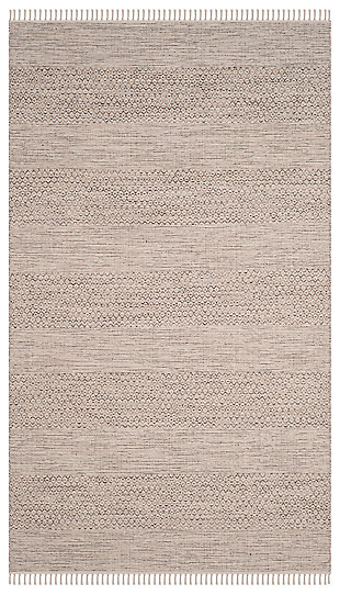 Accessory 5' x 8' Area Rug, Gray/White, rollover