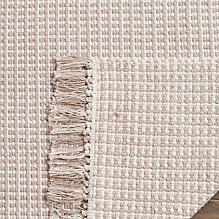 Accessory 5' x 8' Area Rug, Gray/White, large