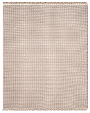 Accessory 8' x 10' Area Rug, Gray/White, large