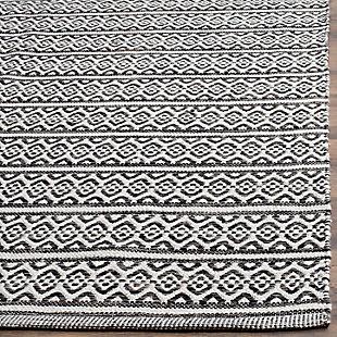 Accessory 3' x 5' Doormat, Black/White, rollover