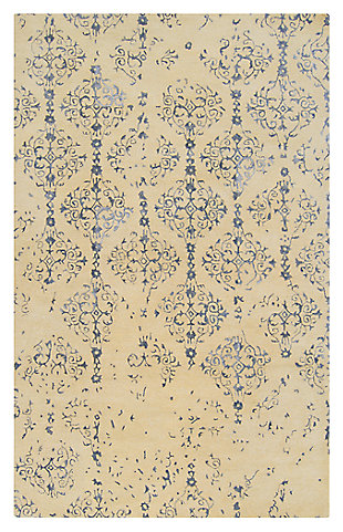 Home Accents 5' x 8' Rug, Blue, rollover