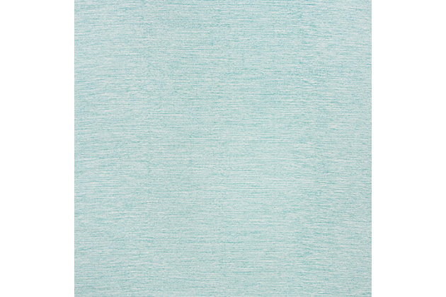 Hand Crafted 5' x 8' Area Rug, Blue, large