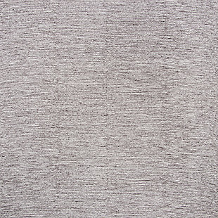 Hand Crafted 8' x 10' Area Rug, Gray, large