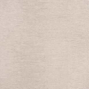 Hand Crafted 3' x 5' Doormat, Beige, large