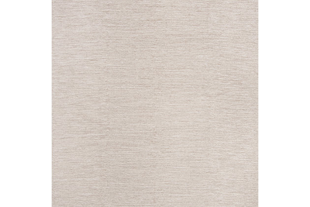 Hand Crafted 5' x 8' Area Rug, Beige, large