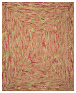 Reversible 8' x 10' Area Rug, Multi, rollover