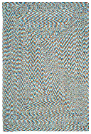 Reversible 6' x 9' Area Rug, Gray, large