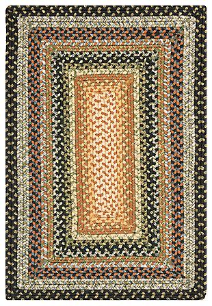 Reversible 3' x 5' Doormat, Beige/Brown, large