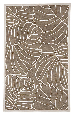 Home Accents 5' x 8' Rug, Green, rollover