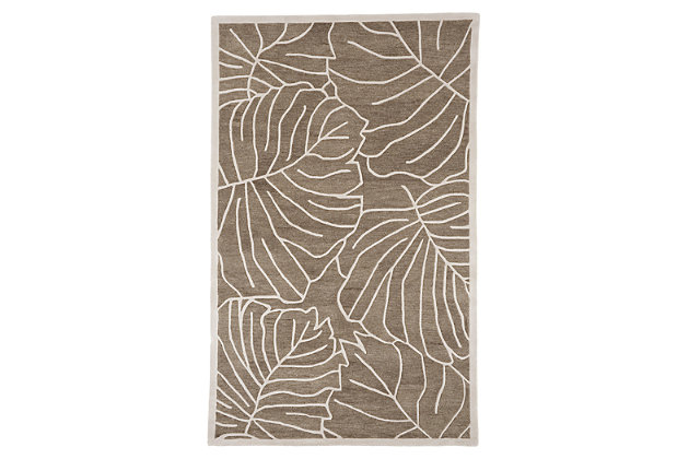 Home Accents 5' x 8' Rug by Ashley HomeStore, Green