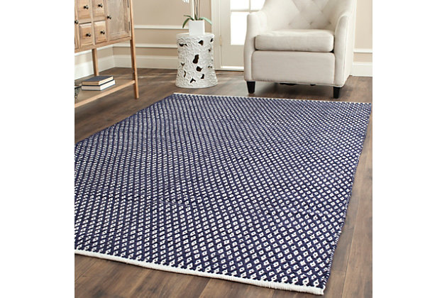 Hand Crafted 5' x 8' Area Rug, , large