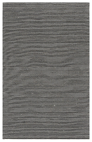 Hand Crafted 5' x 8' Area Rug, Black/Ivory, large