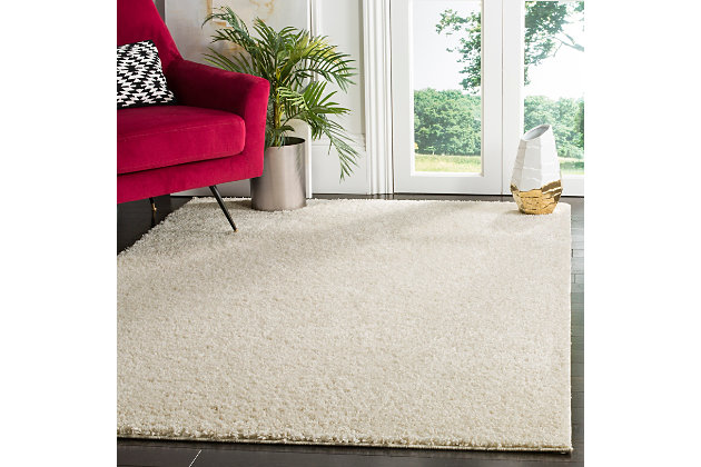 """Hand Crafted 5'1"""" x 7'6"""" Area Rug, Cream, large"""