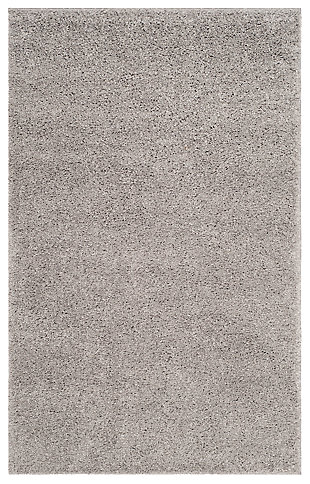 Hand Crafted 3' x 5' Doormat, Light Gray, large