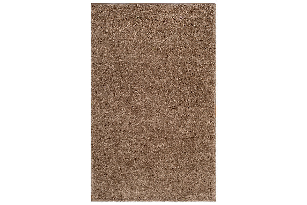 Hand Crafted 3' x 5' Doormat, Taupe, large