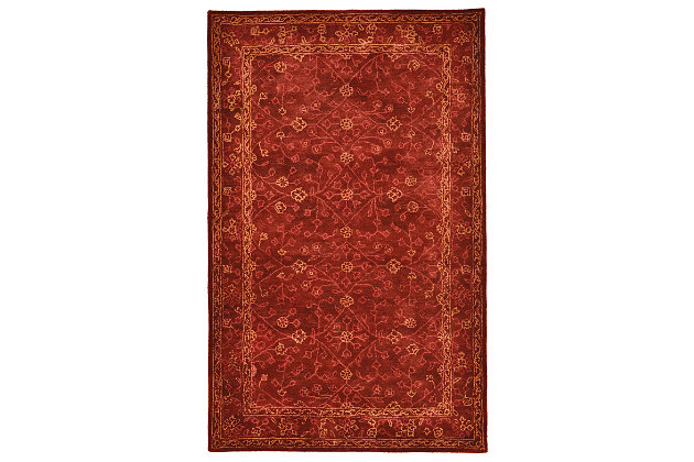 Red Home Accents 8' x 10' Rug by Ashley HomeStore